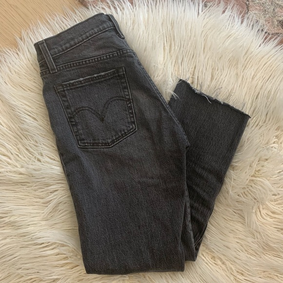 Levi's Denim - Levi's Wedgie fit in coal black